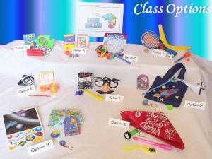 Bday-Class options
